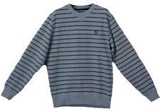 Lyle & Scott Quality Vintage Designer Sweatshirt Jumper Sky Blue Size M RRP £69