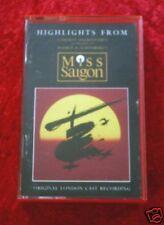 MC  Highlights from MISS SAIGON  Musikkassette
