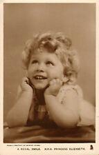 raphael tuck & sons photo card of princess elizabeth .number 3986