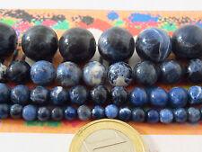 pietre in sodalite cabochon 4 misure a scelta tra  4-6-8 e 12 MM