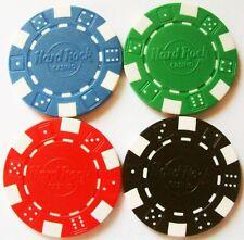 Hard Rock Casino Poker Chip Golf Ball Marker Lucky (choose Red/Blue/Black/Green)