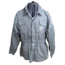 Giacca giubbino casacca forestale militare sportiva uomo cotone grigio