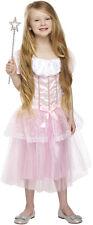 La Principessa Vestito Rosa Ragazze Bambini Pretty Pink Girl Principessa Costume