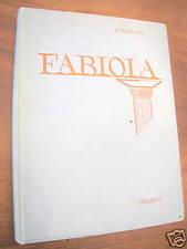 FABIOLA NICOLA WISEMAN CARROCCIO EDITORE 1963 1° EDIZ.