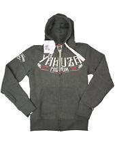 Yakuza Premium Kapuzenjacke Hooded Jacket Grau Rise Of The Crooks #5071