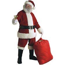 Velvet Santa Suit Adult Santa Claus Christmas Costume