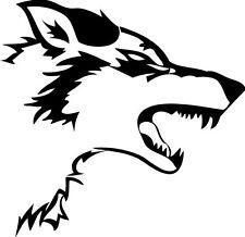 Wolf Vinyl Sticker/Decal Car Window- Laptop Decal Beast G.O.T