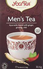 Yogi Tea Homme Ginseng Herbal Tea 17 intercalaires