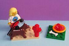 German Shepherd Dog Food Puppy +- Birthday Minifig MOC - MADE OF LEGO BRICKS