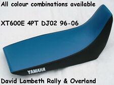 Yamaha XT600E 1996-2006 DJ02 4PT Seatcover Coprisella Sitzbezug Housse de Selle