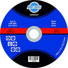 Trennscheibe 180x1,6 mm Metall & Stahl 180 mm Trennscheiben