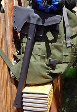 Cold Steel Trench Hawk Sheath - Black Kydex/Malice Clip Suspension