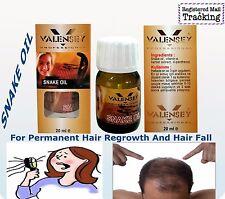 VALENSEY SNAKE OIL 20ml, 0,7oz  PERMANENT SOLUTION FOR LOSS HAIR, %100 NATURAL