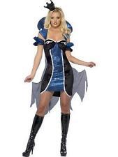 Costume Carnevale Donna travestimento Regina Blu smiffys *12426