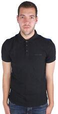 Armani Jeans Mens Polo Shirt 6Y6F24 6JPTZ 1200 Black