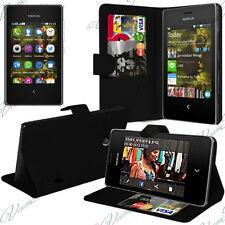Accessoire Housse Etui Coque Portefeuille Support Video Pour Nokia Asha 503
