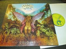 Eloy rare SPACE KRAUTROCK PROG LP Colours NM '80 german gatefold orig harvest !!