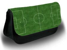 Football Pitch Kids Make Up Bag Case Makeup Cosmetics Fan Field Astro Turf D763