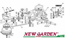 demonté transmission 102cm TN185H Rouler sur la tondeuse tondeuse CASTELGARDEN