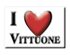 CALAMITA LOMBARDIA ITALIA FRIDGE MAGNET MAGNETE SOUVENIR I LOVE VITTUONE (MI)