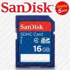 Carte Mémoire SD SANDISK 16 Go Gb SDHC ( Disponible aussi en 4 8 32 64 Giga )