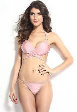 Costume Da Bagno Bikini Wrap Halter Top Pant string slim sling Swimwear Swimsuit