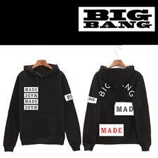 Kpop Bigbang Made Concert Cap Hoodie Sweatershirt G-Dragon Pullover