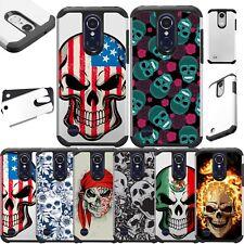 For ZTE ZFive G/Avid 4/Fanfare 3/Blade Vantage Hybrid Phone Case Cover Fusion P6