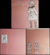 "12""X12"" Scrapbook Paper - Dress-ups, Dolly, Girls Pink"
