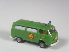 Raras: Brekina VW t2 coche familiar ASB ambulancia verde