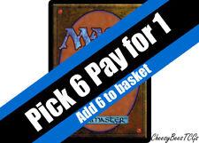 Magic the Gathering - MTG - Blue Cards x1 (H-R)(M19 & Various Sets)