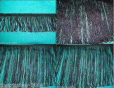 Black Looped Fringe  Decorative Dress  Furnishing Trimming Four Lengths