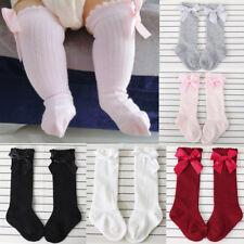 Cute Baby Girls Knee High Long Soft Cotton Warm Tights Socks Stockings Pantyhose