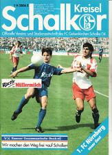 BL 91/92 FC Schalke 04 - 1. FC Nürnberg
