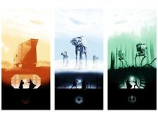 Star Wars Original Trilogy Movie Art AT-AT Huge Giant Wall Print POSTER