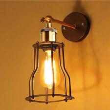 vintage rétro industriel mezzanine rustique Applique Murale Lampes Porche HC