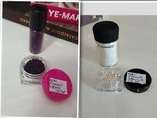 CHOOSE x2 MAC PIGMENT EYESHADOW SAMPLES ~ Grape, Deep Blue Green, Vanilla, Melon