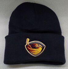 Atlanta Thrashers NHL Hockey Embroidered Knit Beanie Hat Winnipeg Jets New