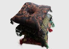 Tibetan Singing Bowl Square Cushion/Pillows in Various Colors-Handmade in Nepal