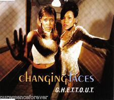 CHANGING FACES - G.H.E.T.T.O.U.T. (UK 5 Trk CD Single)