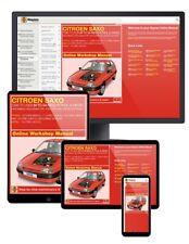 Citroen Saxo Petrol & Diesel (1996-2004) N to 54 Haynes Online Manual