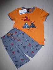 SCHIESSER Jungen Schlafanzug Pyjama kurz NICI Dragons Gr. 98-140 Drachen NEU