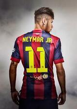 Neymar Jr Barcelona Art Print Foto Imagen Cartel A3 A4