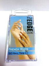 Il bordo bianco francese nail tips (BOXED) Qtà 50 (spigolo autentico elemento)