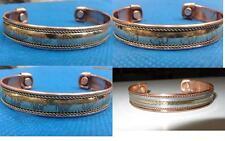 Copper magnetic rheumatism healing Bracelet ohm, elephant, Buddha, weave designs