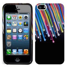 Accesorio Funda Carcasa Gel De Color Estrella Fugaz Para Apple iPhone 5/ 5S