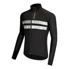 Zimco Hiver Cyclisme Thermique Veste Polaire à Manches Longues Mountain Bike Jersey 1157