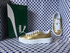 Scarpe Puma Donna - Basket Platform Glitter - Oro - 364093