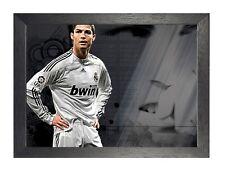 Cristiano Ronaldo 20 MOTIVAZIONE REAL MADRID PROFESSIONALE CALCIATORE Poster