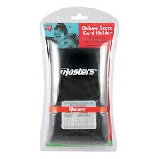 Masters Deluxe Score Card Holder - New Golf Handicap Calculator Pencil